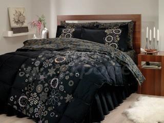 Satin Sleeping Sets Efsun Black Sleep
