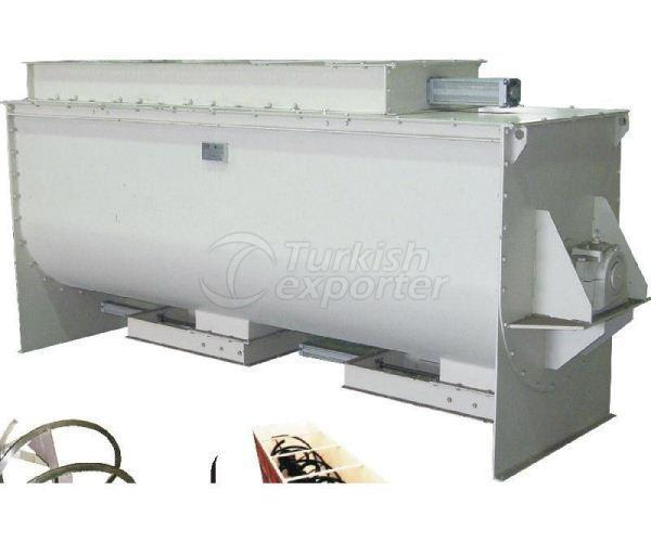 Horizontal Mixers Ribbon Type