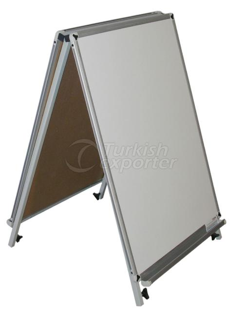 Triple Type Magnetic Board