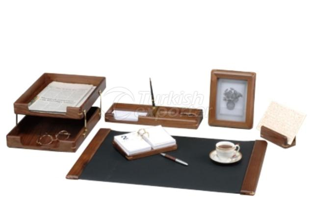 Wooden Walnut Deskpad Sets