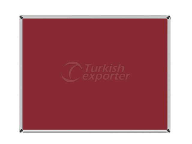 Hang Type Fabric Board Maroon