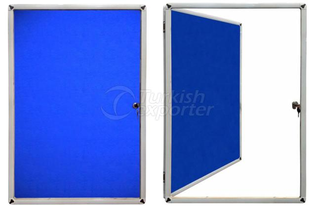 Thin Frame Fabric Board