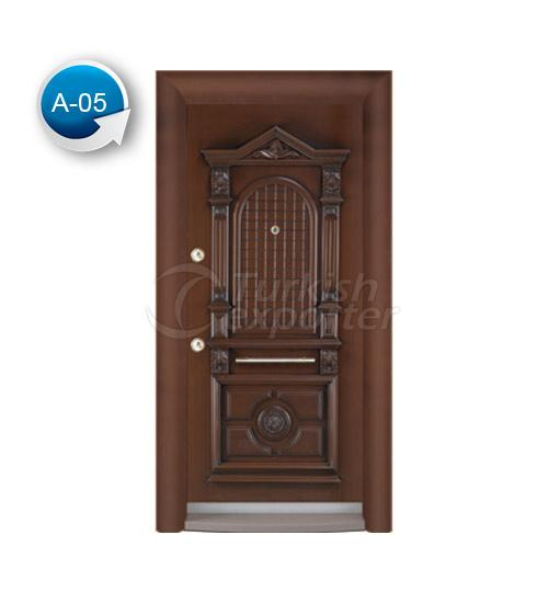 Steel Door Antique 5