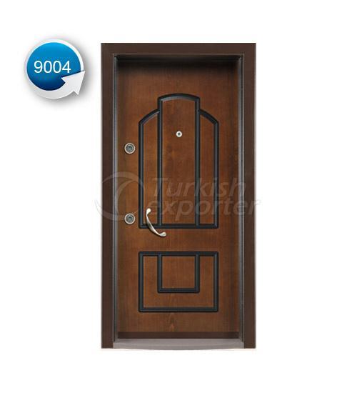 Steel Door Vetro 9004
