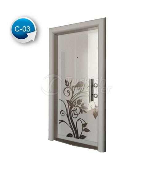 Steel Door Crystal 3