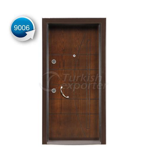 Steel Door Vetro 9006