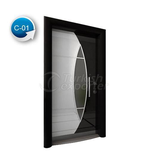 Steel Door Crystal 1