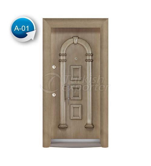 Steel Door Antique 1