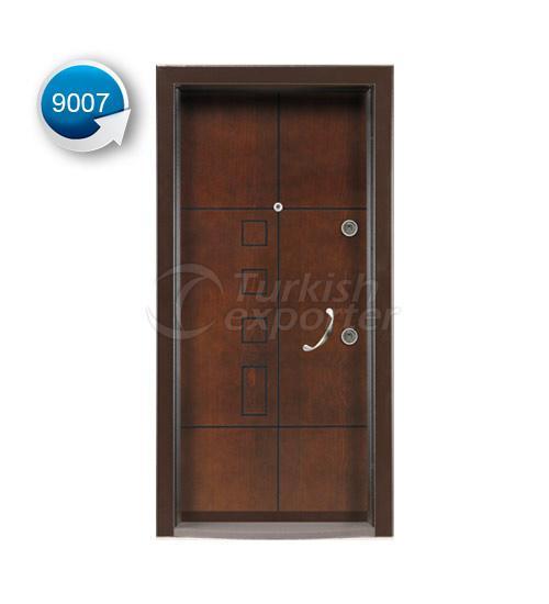Steel Door Vetro 9007