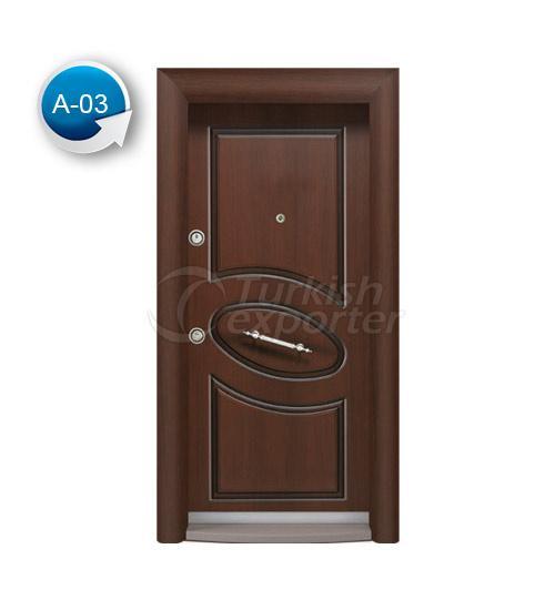 Steel Door Antique 3