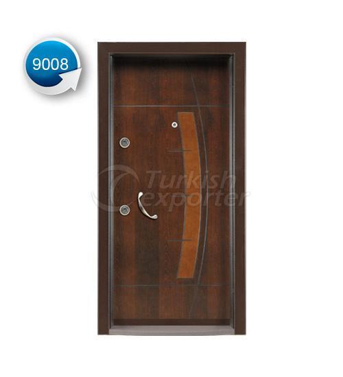 Steel Door Vetro 9008
