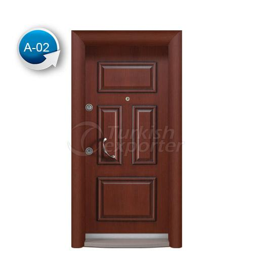 Steel Door Antique 2