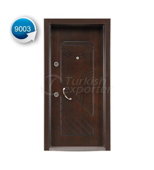 Steel Door Vetro 9003
