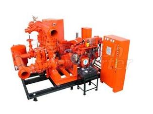 Package Type Fire Extinction Pumps Standart