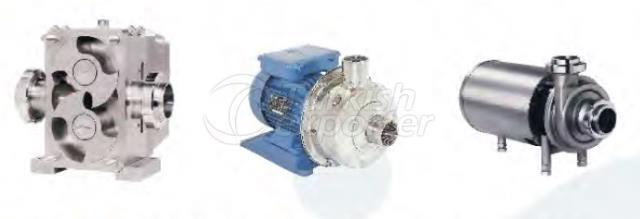 Centrifuge-Lobe Pumps