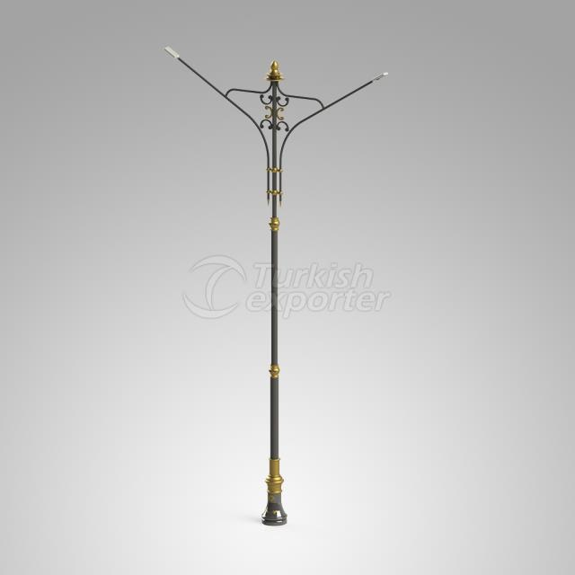 Decorative Lighting Pole ISIN-3019