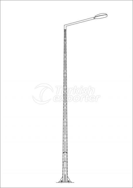 Polygonal Lighting Pole AD1