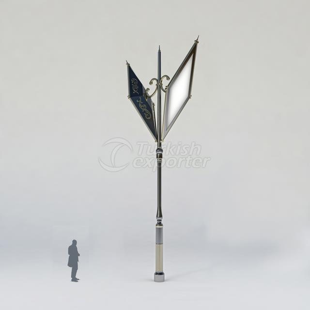 Decorative Lighting Pole ISIN-3005