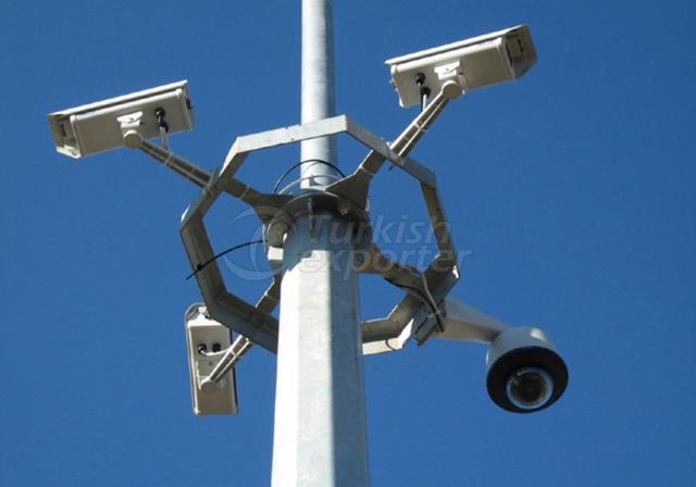 Surveillance Cameras Poles