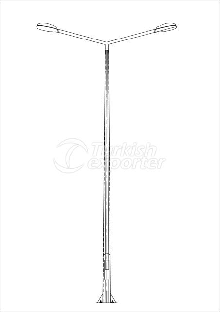 Polygonal Lighting Pole  AD2