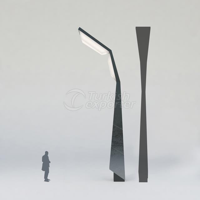 Decorative Lighting Pole ISIN-3002