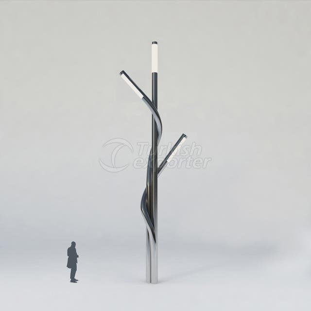 Decorative Lighting Pole ISIN-3003