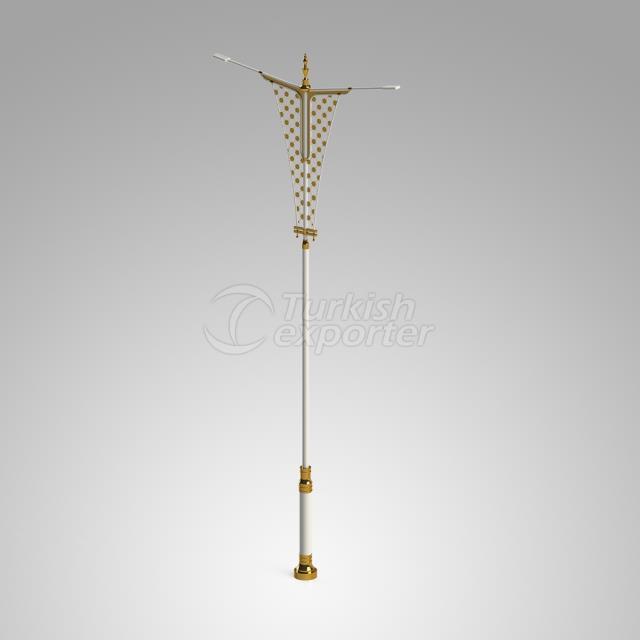 Decorative Lighting Pole ISIN-3014