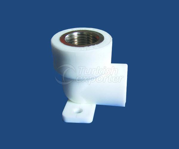 PPRC Wall Plate Elbow Male