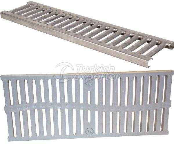 Modular Channel Grate - 200mm