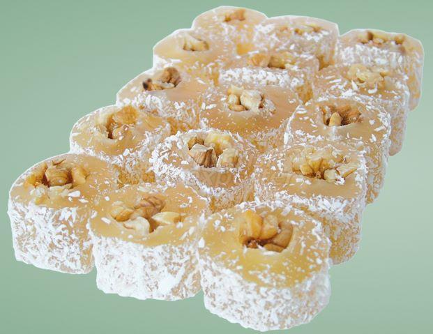 Walnut Roll Turkish Delight