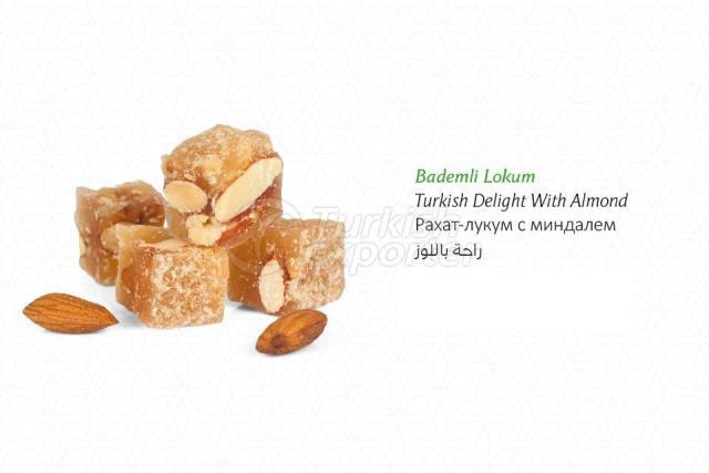 Almond Turkish Delight