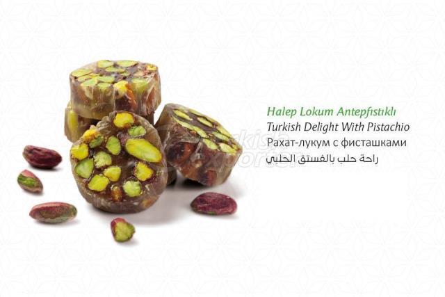 Aleppo Pistachio Turkish Delight