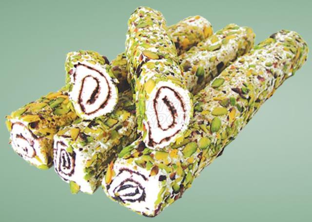 Sultan Sliced Pistachio Turkish Delight