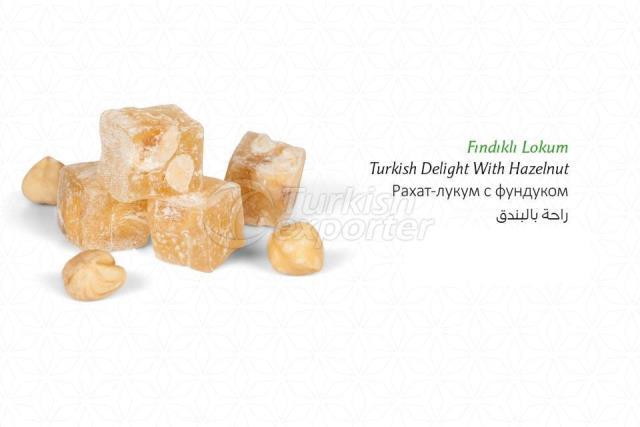 Hazelnut Turkish Delight