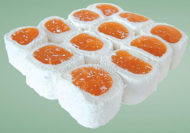 Soaproot Orange Roll Turkish Delight