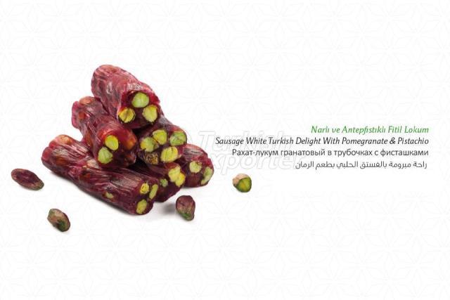 Pomegranate Pistachio Turkish Delight