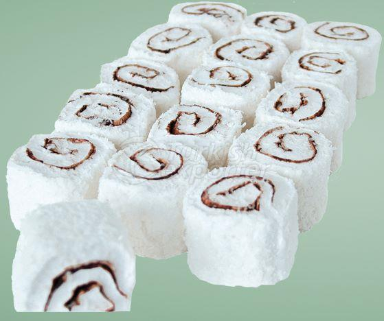 Sultan Chocolate Roll Turkish Delight