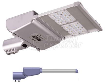 Saka Led Road Lighting Fixtures 2 Modules