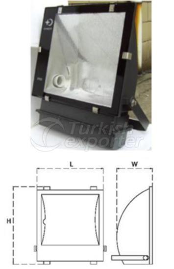Asyymetrical Floodlights OPT332B