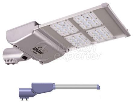 Saka Led Road Lighting Fixtures 4 Modules