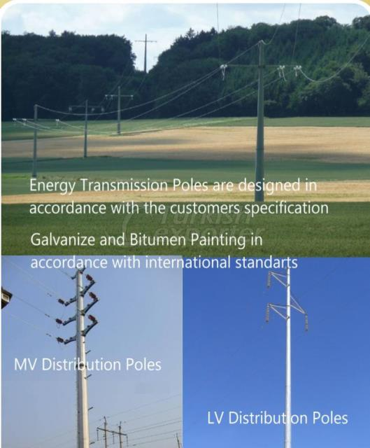 Energy Transmission and Distribution Poles