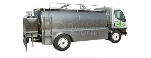 Single Body Milk Transportation Tank
