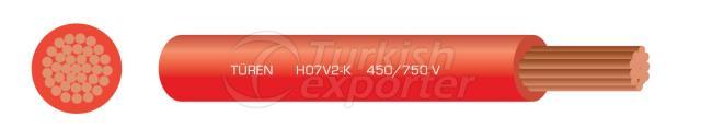 H07V2-K Panel Wires