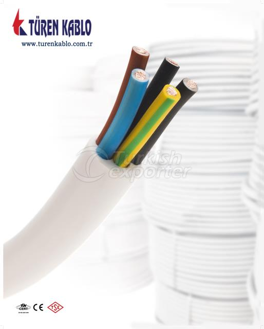 Installation Cables H05VV5-F