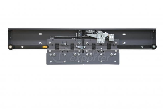 2 Panel Central B-01 Black