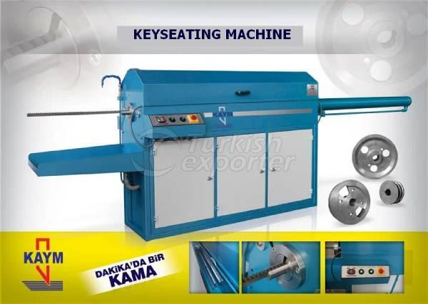 KAYM KEYSEATING MACHINE/ BROACHING MACHINE ( HORIZANTAL )