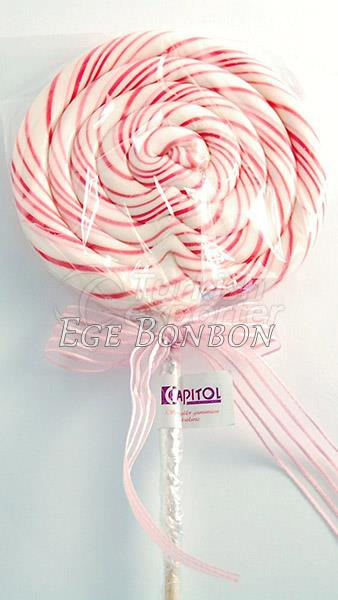Lollipop Candy with Logo