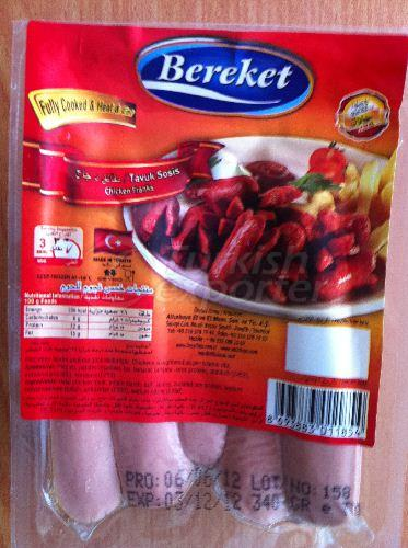 Bereket Chicken Franks 340gr