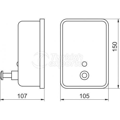 Liquid Soap Dispenser 5021_03