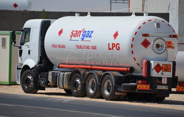 LPG Bobtail Tank